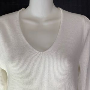 COPY - A New Day Ribbed Fitted Pullover Sweater Size Med